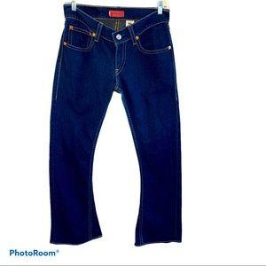 Vintage Levi's Tough Women Boot Jeans size 8